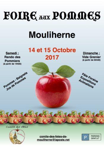 Foire aux pommes de mouliherne le 14 et 15 octobre 2017 for Foire de moulins 2017